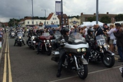 Bikers rally in Sheringham