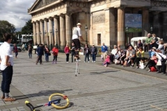 Street Artists at the Fringe