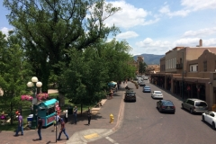 Overlooking the Town Square, Santa Fe