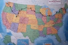 Our Route - Boston to Seattle