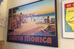 Santa Monica Poster end of Route 66