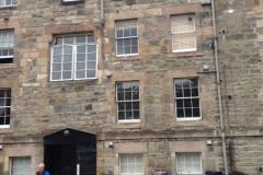 Tenement Block where we stayed
