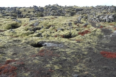 Unusual rock and lava formations
