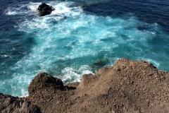 The coast at El Tahosin