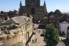 View of Cathedral from Castle
